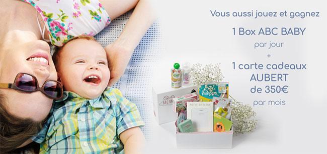 Les cadeaux à gagner avec ABC Baby