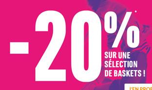 Chausport : 20% de réduction + activité Skilleos offerte