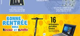 Jeux Intermarché instants gagnants : 350 lots à gagner