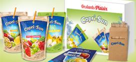 Instants Plaisir Box dégustation Coca-Cola : coffret Capri-Sun