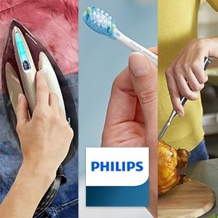 Jeu Philips : 3 appareils à gagner (friteuse, centrale vapeur…)