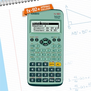 Promo + ODR = Calculatrice Casio FX 92+ pas chère
