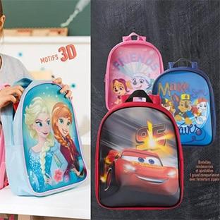 meilleur pas cher 1c976 53b03 Promo Lidl : Cartable Disney à 3,49€ ou classique à 4,99€