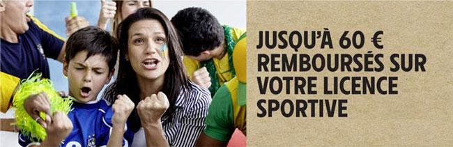 Intermarché : Offre de remboursement sur votre licence sportive