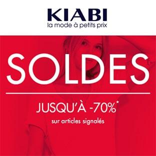 Soldes Kiabi : Jusqu'à -70% + 20% de réduction supplémentaire