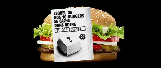 Mystère Burger King 2018
