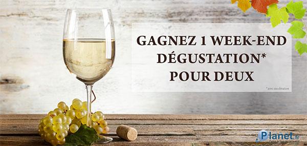 Gagnez un séjour d'exception dans un domaine viticole