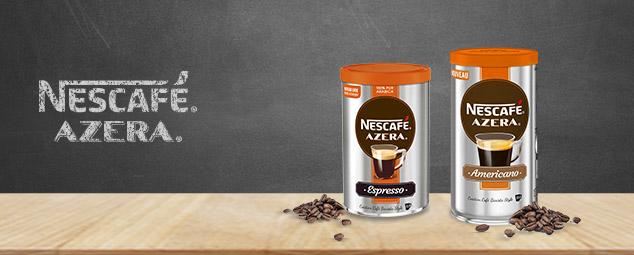 testez gratuitement les cafés Nescafé Azera