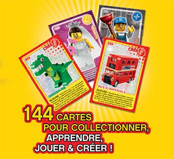 Cartes Lego offertes