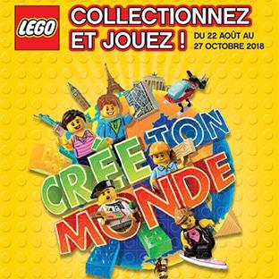 LEGO Auchan : Vignettes, cartes, collector, jouets