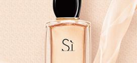 Doses d'essai gratuites de l'eau de parfum Sì de Giorgio Armani