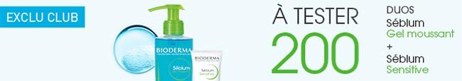 tester gratuitement un soin et un gel moussant Sébium de Bioderma