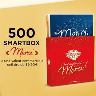 Jeu Intermarché instants gagnants : 500 Smartbox à gagner