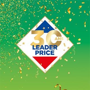 Jeu anniversaire Leader Price 30 ans