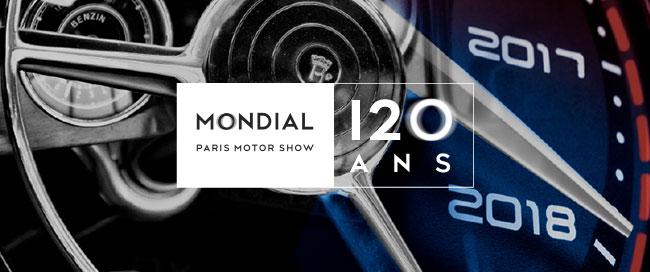 Invitation offerte à gagner pour le Mondial Paris Motor Show 2018