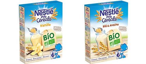 testez gratuitement la gamme P'tite Céréale BIO de Nestlé