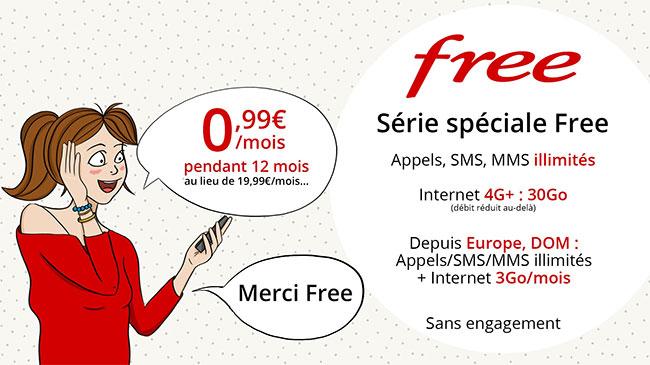 Série spéciale Free Mobile 30 Go