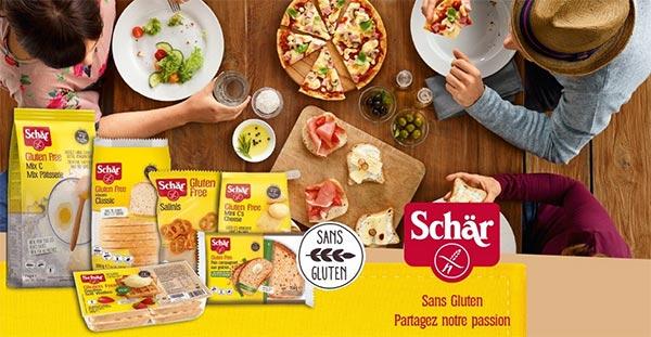 testez gratuitement les produits sans gluten Schär