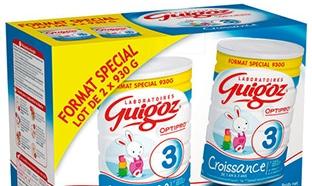 Promo Guigoz Croissance et bon de réduction