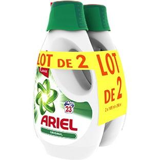 Promo Intermarché : Lot de 2 bidons de lessive Ariel à 3,58€