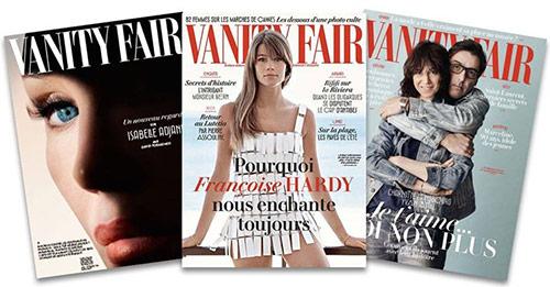 Recevez gratuitement 3 magazines Vanity Fair