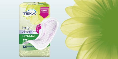 Test gratuit de serviettes Lady Discreet by Tena