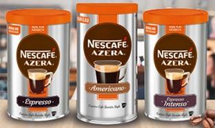 Test Nescafé : boîtes de café Azera gratuites