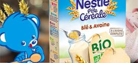 Test Nestlé Bébé : 1500 paquets de P'tite Céréale BIO gratuits