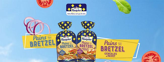 Tentez gratuitement 2 sachets de pains Bretzel Pasquier