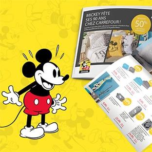 Vignettes Mickey Carrefour : Collection Disney jusqu'à -60%
