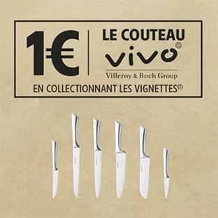 Demandez vos 5 vignettes Vivo offertes sur Intermarche.com