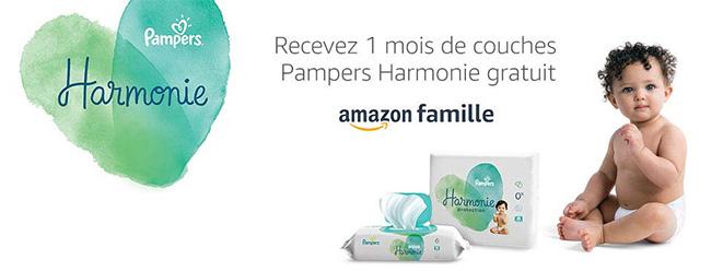Promotion Liste de naissance : cadeau Pampers Harmonie
