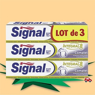 coupons de reduction signal