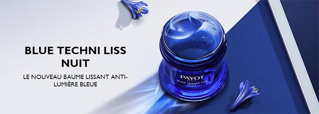 remportez un soin de nuit Blue Techni Liss avec le jeu Payot