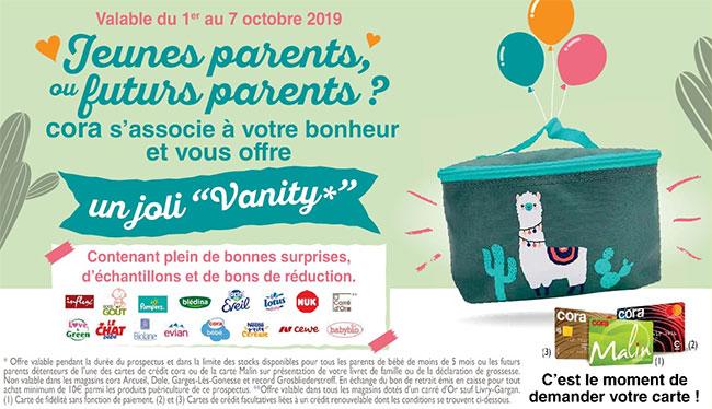 Vanity Cora pour bébé gratuit