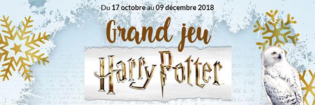 Tentez de gagner des cadeaux Harry Potter