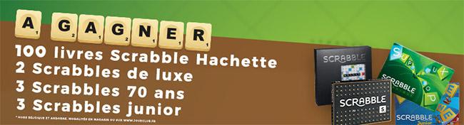 Les cadeaux Scrabble
