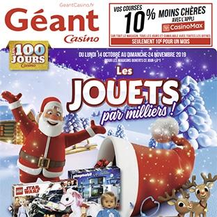 Catalogue jouets Géant Casino Noël 2019 en ligne