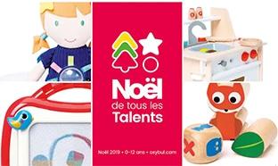 Catalogue Oxybul de Noël 2020 en ligne : Éveil et jeux