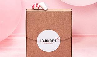Mini-box d'échantillons gratuits avec L'Armoire à Beauté