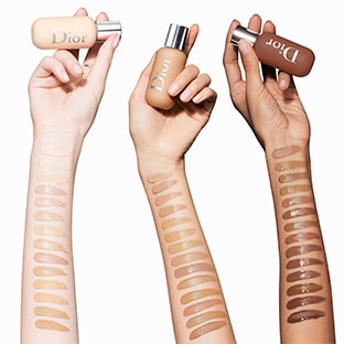 Échantillons du fond de teint Dior Backstage Face et Body Foundation