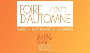 Foire d'Automne 2019 / Foire de Paris Maison : Invitations gratuites