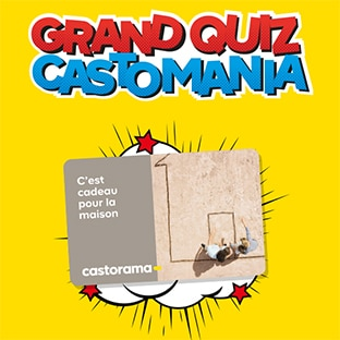 Jeu Grand Quiz Castomania sur Castorama.fr