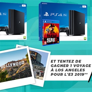 Jeu Game One : 1 voyage à Los Angeles et 27 lots Gaming