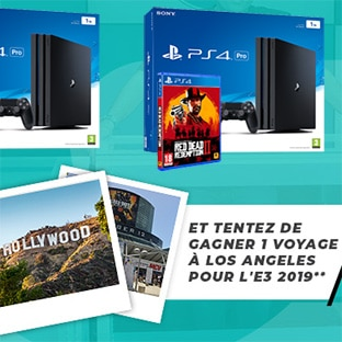 Jeu Game One : 1 voyage à Los Angeles et 27 lots Gaming