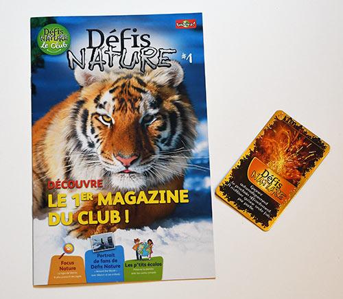 Recevez gratuitement les magazines Défis Nature