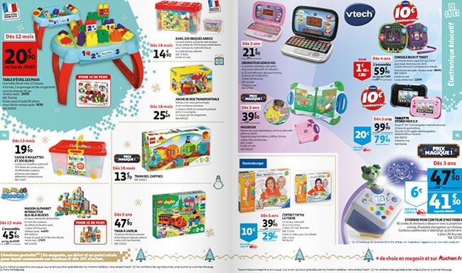 Prospectus des jouets de Noël 2019 des magasins Auchan