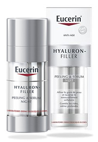 soin Hyaluron-Filler Peeling & Sérum d'Eucerin