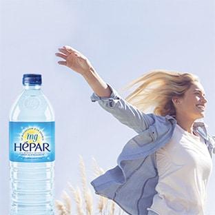 Test Hépar : Packs de bouteilles d'eau gratuits