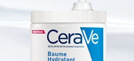 Test Sampleo : 1000 baumes hydratants CeraVe gratuits